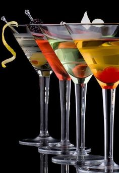 Martinis  for the four of us!   lol