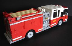 LEGO Ideas - Realistic Fire Engine