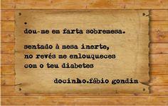 Blogue do Lado Avesso: Docinho