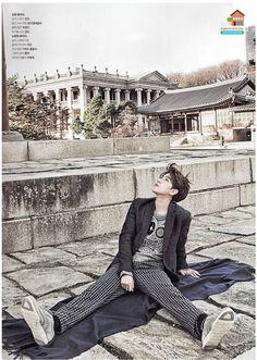 BAEKHYUN    The Celebrity Magazine January 2015