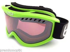 Bolle carve ski snowboarding goggles #shiny green / #vermillon gun mirror #21265 ,  View more on the LINK: 	http://www.zeppy.io/product/gb/2/371446561773/