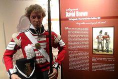 Sergeant David Brown 21st Regiment of Foot North British Fusiliers, 1814.