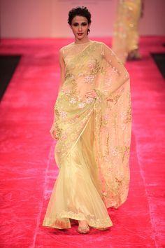 Bhairavi Jaikishan's Collection of Lahenga Sarees 2012