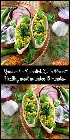 Protein rich, vegetarian, warm, comforting earthy meal ready in under 15 minutes!