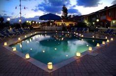 Cómo decorar una piscina para una boda   Preparar tu boda es facilisimo.com