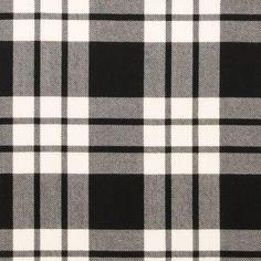 MacFarlane Black & White Lightweight Tartan by the meter – Tartan Shop