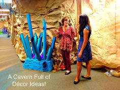 Cave Quest rockstar sightings! Joani and Shannon going through all the amazing Cave Quest decorations. Be on the lookout for the Cave Quest decorating walk-through coming soon!