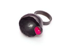 ring | copper, paint. Letitia Pintilie, 2015