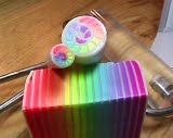 Rainbow Skinner Blend Mosaic Jelly Roll