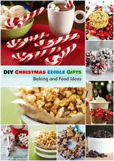 DIY Christmas Gift Ideas: 1.Sewing Gifts 2.Christmas Edible Baking and Food Gifts 3.Candy Gifts for Christmas 4.Mason Jar Gifts 5.Chocolate and Biscuit Gift