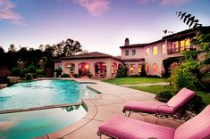 It's like Barbie's Dream House.