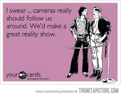 OHHHH MY GOSH i tell cindy this all the time seriously they should!..we live a crazy life:)