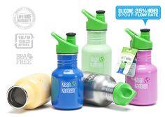 Schadstofffreie Trinkflasche (nicht nur) für Kinder -- 12oz Kid Kanteen Sport Bottle