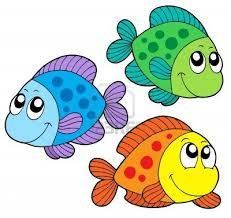 free cute clip art cute cartoon fishes collection stock vector rh pinterest com saltwater fishing clipart bass fish clipart
