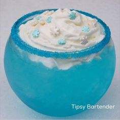 What a perfect drink for winter!  Check out our Frozen Serenity!  For the recipe, visit us here: http://www.tipsybartender.com/blog/frozen-serenity