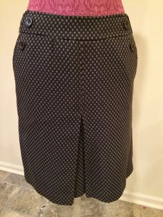 Ann Taylor Wool Blend Skirt Size 6 | eBay