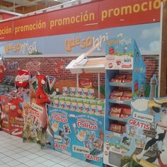 Coolio & Freshboard in-store set up for Bel Group Spain