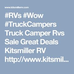 Pre Owned Fifth Wheel RVs for Sale in Michigan - Used Wheels Kitsmiller RV Used Rvs, Fifth Wheel, Rvs For Sale, Truck Camper, Michigan, 5th Wheels, Trucks, Search, Caravan