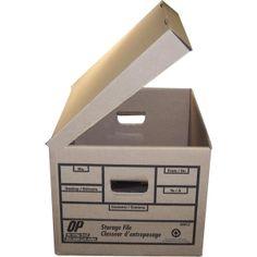 OP Brand Attached Lid Storage Box Lid Storage, Filing, Organization, Kit, Getting Organized, Organisation
