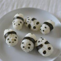 Teeny Panda Onigiri