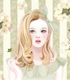 Lovely girl ★