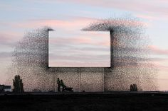 "Seattle's ""negative billboard"" installation by Lead Pencil Studio"