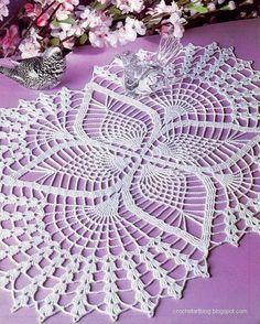 Crochet Doilies – Free Crochet Pattern – Wonderful Oval Lace Doilies | Crochetz.com