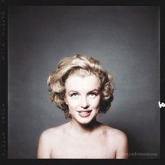 Marilyn Monroe Color by Angelina Karpunina
