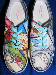 Totoro Painted shoes