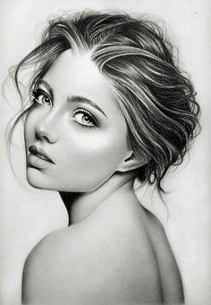 Discover The Secrets Of Drawing Realistic Pencil Portraits Portrait Sketches, Portrait Illustration, Pencil Portrait, Portrait Art, Amazing Drawings, Realistic Drawings, Pencil Art Drawings, Art Drawings Sketches, Drawing People