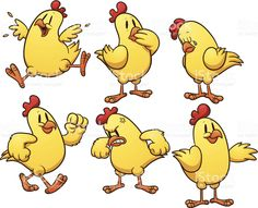 cartoon chickens clipart best backgrounds clipart images etc rh pinterest com images of cartoon chickens images of funny cartoon chickens