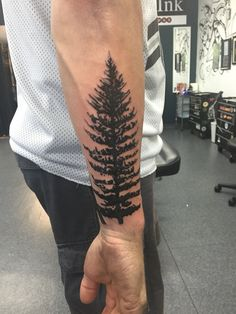 Forest Pine Tree Tattoo More