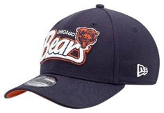 Chicago Bears New Era 39Thirty Tail Swoop Classic Hat by New Era. $24.95. Step into your own as the ultimate sports fan and rally your cheers for your favorite NFL team with this Chicago Bears New Era 39THIRTY Tail Swoop Classic Hat. Brought to you by New Era, this 39THIRTY Bears flex hat has a stretch fit back with a contoured crown, pre-curved visor, eyelet vents, button top and a contrast under-visor. Chicago Bears stretch hat features a raised embroidered team logo on the...