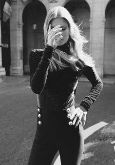 "Malgosia Bela in ""Le Chic Dans La Peau"" for Vogue Paris, November 2015  Photographed by Angelo Pennetta"