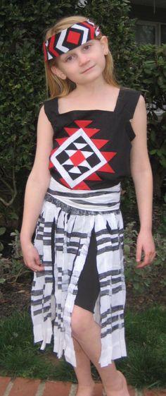 Full Kapa Haka Costume #costumes #diy #maori #kapahaka