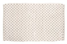 Tappeto 60x90 bianco con pois grigi Blanc MariClò - TAPPETI - TESSILE
