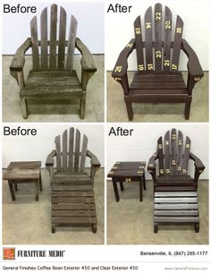 fixing wooden chairs picture frame molding above chair rail 46 best restore repair wood furniture images check out this before and after shot of an adirondack restoration by medic