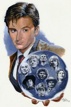 Me, myselves and I by Timedancer on deviantART (The Doctors, Tenth Doctor Larger Image)