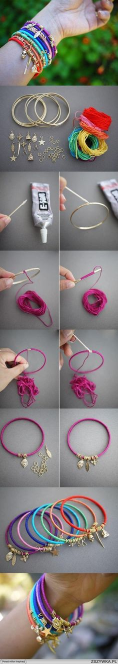 diy, easy, summer, bracelet