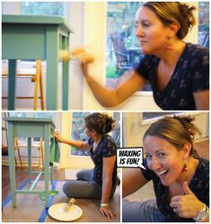 Waxing is NOT as intimidating as you think it is!  Don't let it stop you from trying Annie Sloan Chalk Paint.