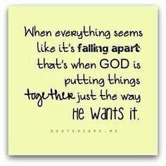 Have faith..