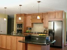 Open Galley Kitchen With Island amazing open galley kitchen design : elegant open galley kitchen