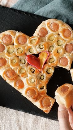 You'll fall in love with this delicious shareable pastry. Tasty Video, Puff Pastry Sheets, Puff Pastry Recipes, Valentines Food, Sausage Breakfast, Fish Dishes, Holiday Recipes, Food To Make, Food Photography