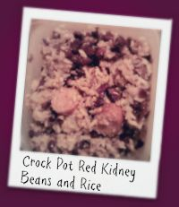 """Congrats to Billie H. of Graham, TX - new member of the """"CROCKSTAR HALL OF FAME"""" & the Winner of a Crock-Pot Food Warmer - for her recipe Crock Pot Red Kidney Beans & Rice!"""