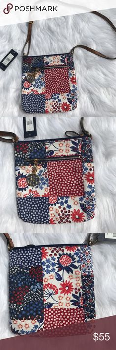 Tommy Hilfiger Dariana Patchwork Flower Crossbody Brand new with tags! Questions welcome, offers welcome. Ask for dimensions. Tommy Hilfiger Bags Crossbody Bags