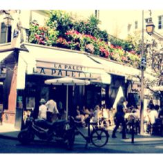 La Palette Cafe in Paris!   Best escargot I've had!!! A truly French experience.
