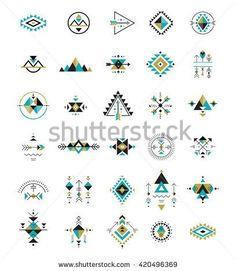 Esoteric, Alchemy, boho, bohemian sacred geometry, tribal and Aztec, sacred geometry, mystic shapes, symbols