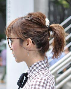 ◆美人スナップ|小林さん http://www.bijin-snap.com/2011/09/04/no-517/page/7/ #小林 #Kobayashi #girl_with_glasses #glasses #woman_with_glasses #Ponytail
