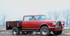 A couple of years ago this car showed up.  It is a 1972 Silver Shadow Dual Cab 4x4 ute based on a 1976 Dodge chassis.    The dual cab ute tr...