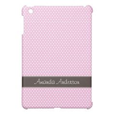 =>>Save on          Personalized Pink Polka Dot iPad Mini Case           Personalized Pink Polka Dot iPad Mini Case In our offer link above you will seeThis Deals          Personalized Pink Polka Dot iPad Mini Case please follow the link to see fully reviews...Cleck Hot Deals >>> http://www.zazzle.com/personalized_pink_polka_dot_ipad_mini_case-256035315232862764?rf=238627982471231924&zbar=1&tc=terrest